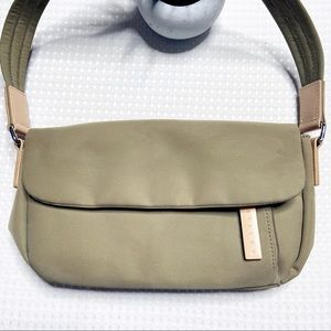 Sisley Canvas Bag with Leather Trim
